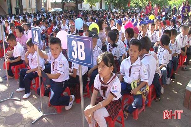 Sắp xếp hệ thống trường học ở Hà Tĩnh - giảm đầu mối, tăng chất lượng: