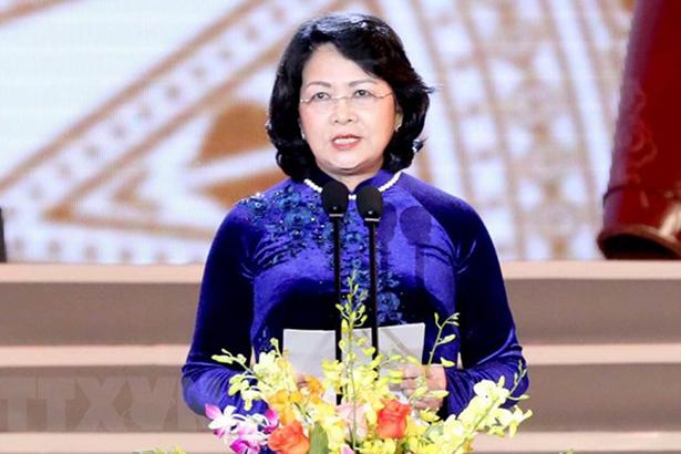 Bà Đặng Thị Ngọc Thịnh giữ quyền Chủ tịch nước CHXHCN Việt Nam
