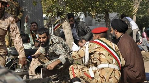 Iran triệu tập phái viên các nước châu Âu sau vụ xả súng lễ diễu binh