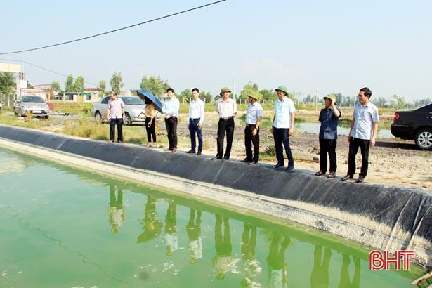 Lộc Hà phấn đấu đạt huyện nông thôn mới vào năm 2020
