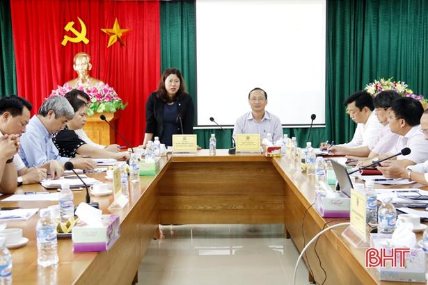 Đoàn công tác Chính phủ đánh giá cao hoạt động của Trung tâm Hành chính công Hà Tĩnh