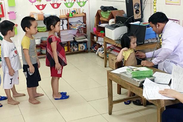 Hương Sơn có 24 trẻ mắc bệnh tay chân miệng