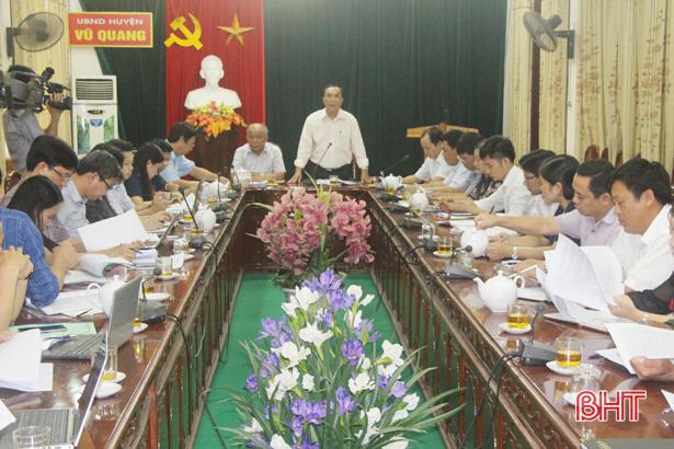 Vốn thực hiện chương trình NTM ở Vũ Quang đạt gần 2.500 tỷ đồng