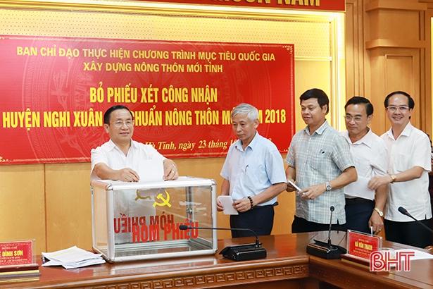 Hà Tĩnh đề nghị trung ương công nhận huyện Nghi Xuân đạt chuẩn NTM