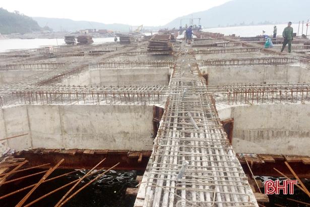 Cuối năm 2019, phấn đấu đưa cầu cảng số 3 Vũng Áng hoạt động