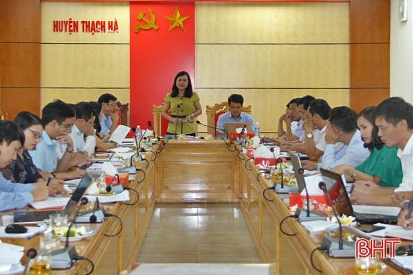 Phát huy lợi thế huyện ven đô, xây dựng Thạch Hà cơ bản đạt chuẩn NTM vào 2020