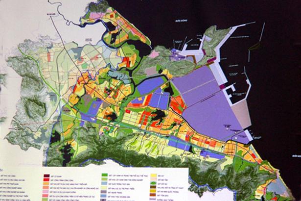 Công bố đồ án Quy hoạch chung thị xã Kỳ Anh đến năm 2035