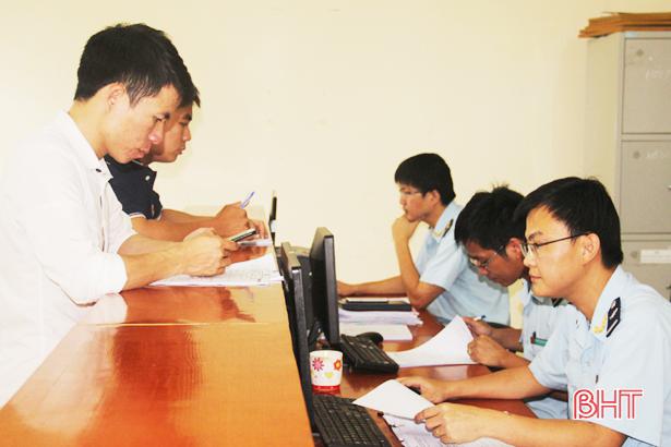 Hải quan Hà Tĩnh thu ngân sách đạt hơn 5.000 tỷ đồng