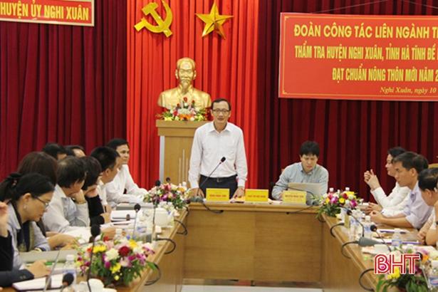 Trên 90% người dân Nghi Xuân hài lòng về huyện nông thôn mới