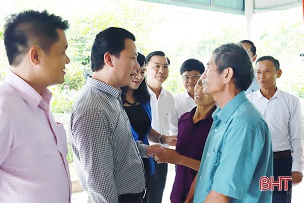 Lãnh đạo Hà Tĩnh chung vui ngày hội Đại đoàn kết tại các khu dân cư