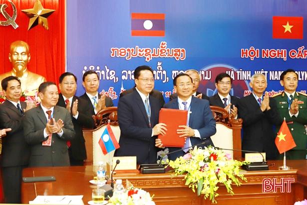 Hội nghị cấp cao Hà Tĩnh – Bôlykhămxay thành công tốt đẹp