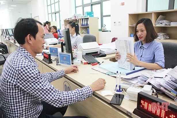 Sở Xây dựng Hà Tĩnh không có hồ sơ, thủ tục hành chính xử lý quá hạn