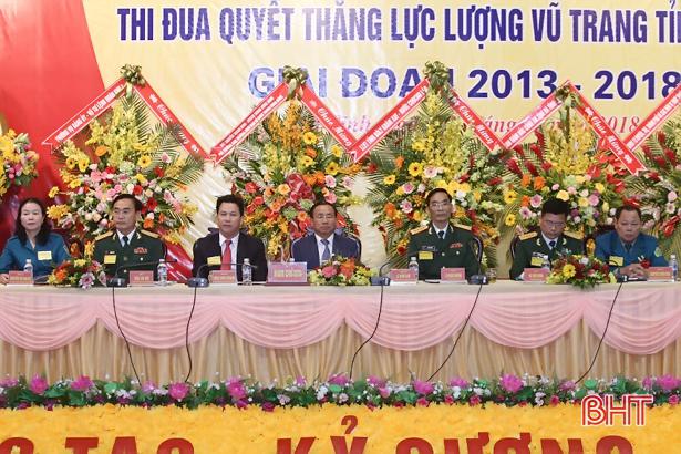 Phong trào thi đua quyết thắng LLVT Hà Tĩnh diễn ra sâu rộng, hiệu quả