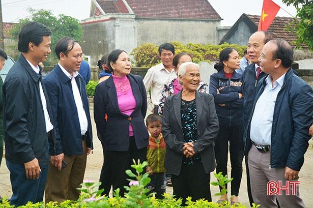 Xã Kỳ Ninh đạt 20 tiêu chí nông thôn mới