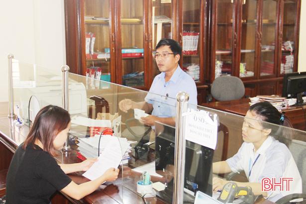 Hà Tĩnh đột phá cải cách thủ tục hành chính thuế