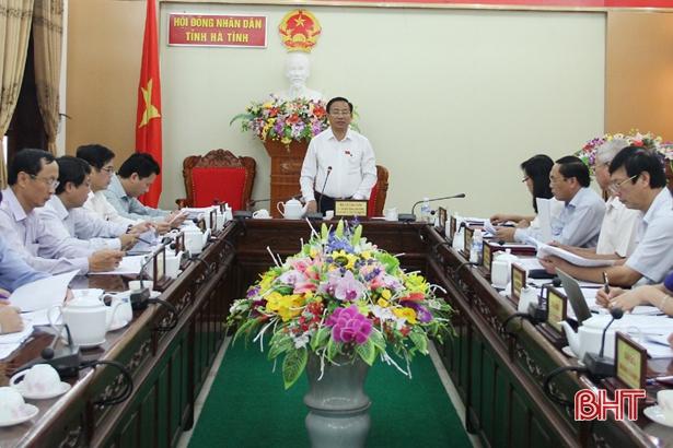 Tập trung soát xét, hoàn thiện các nội dung phục vụ kỳ họp thứ 8 HĐND tỉnh