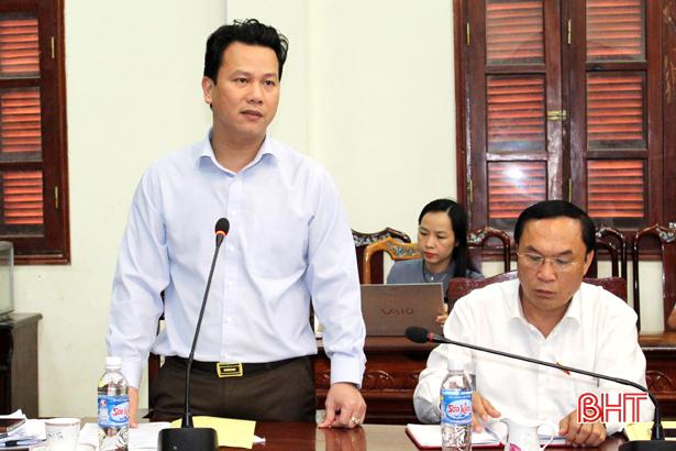 Tỉnh sẽ có chính sách hỗ trợ Can Lộc xây dựng huyện nông thôn mới