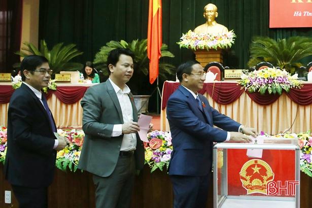 Danh sách 28 người được HĐND tỉnh Hà Tĩnh lấy phiếu tín nhiệm