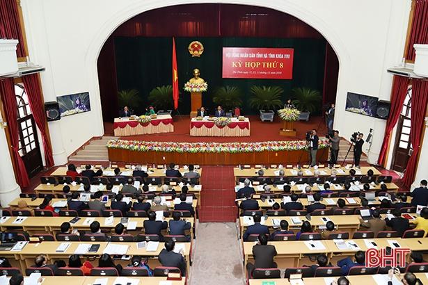 Sáng nay, HĐND tỉnh Hà Tĩnh công bố kết quả bầu cử, lấy phiếu tín nhiệm