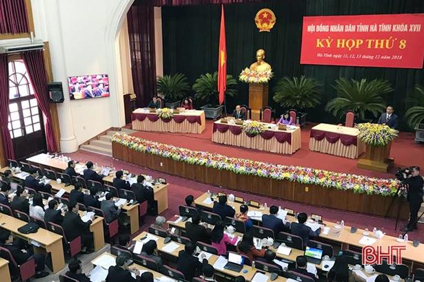 Sáng nay, thêm 3 tư lệnh ngành trả lời chất vấn HĐND tỉnh Hà Tĩnh