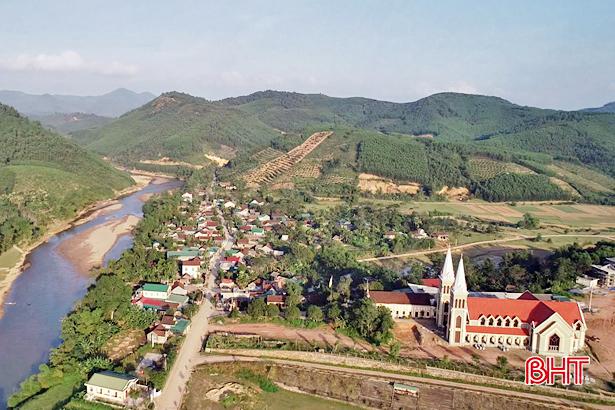 Lương giáo đoàn kết, Hương Thọ hoàn thành 20 tiêu chí nông thôn mới