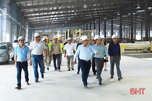 Hà Tĩnh thu hút 108 dự án đầu tư với nguồn vốn hơn 6.920 tỷ đồng