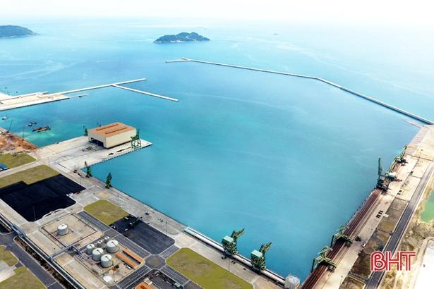 Cảng Sơn Dương dự kiến đón hơn 1.500 lượt tàu trong năm 2019