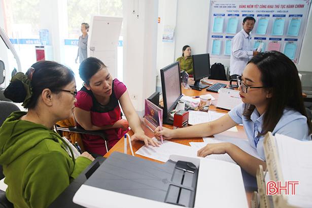 BHXH Hà Tĩnh ứng dụng thành công giao dịch điện tử