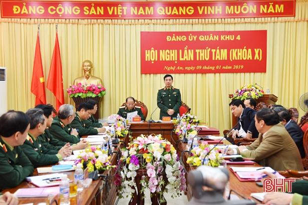 Đảng ủy Quân khu 4 ra Nghị quyết lãnh đạo thực hiện nhiệm vụ năm 2019