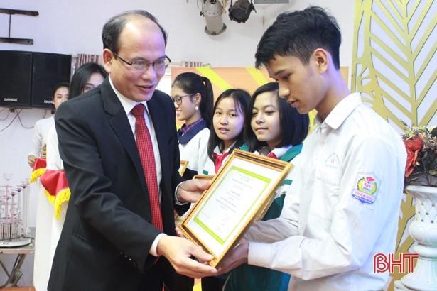 85 sản phẩm đoạt giải tại Cuộc thi Khoa học - Kỹ thuật cấp tỉnh