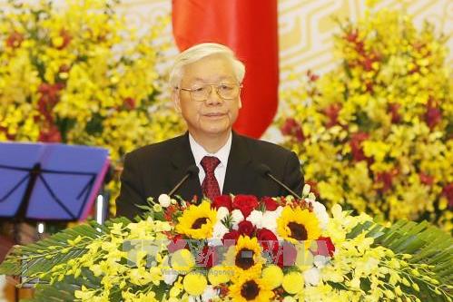 Tổng Bí thư - Chủ tịch nước Nguyễn Phú Trọng: Tạo nền tảng vững chắc để đất nước phát triển