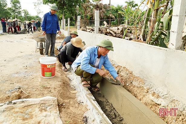 Hà Tĩnh huy động hơn 28.000 tỷ đồng xây dựng nông thôn mới