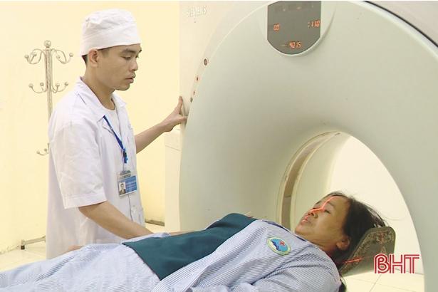 BVĐK Hương Sơn ứng dụng thành công chụp cắt lớp vi tính CT Scanner