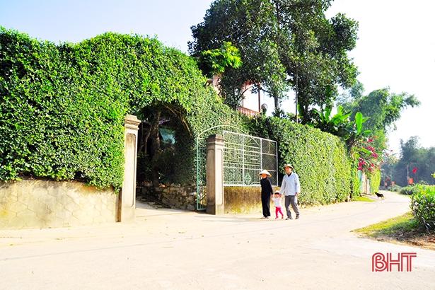 Dấu ấn nông thôn mới ở huyện biên giới Hà Tĩnh