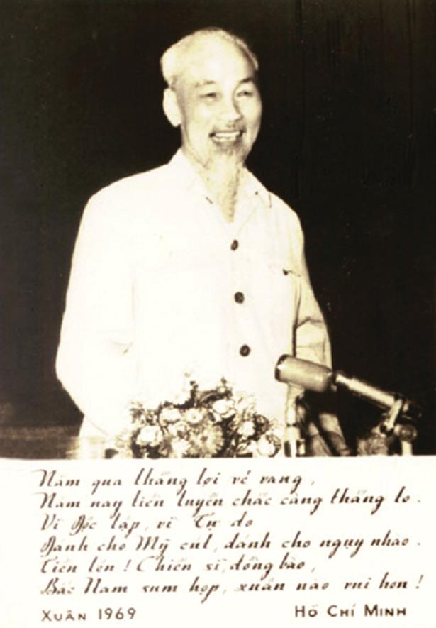 Bài thơ chúc Tết của Bác Hồ năm 1969 - bài thơ di chúc