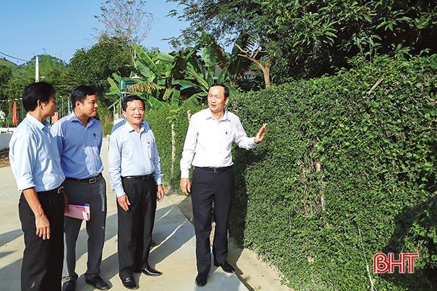 Giá trị mới trong xây dựng nông thôn mới ở Hà Tĩnh