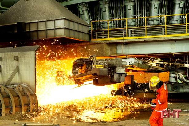 Chỉ số công nghiệp Hà Tĩnh tháng 1/2019 tăng 45,1%