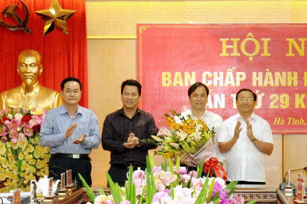 Đồng chí Hoàng Trung Dũng được bầu giữ chức Phó Bí thư Thường trực Tỉnh ủy Hà Tĩnh