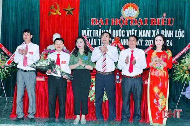 Cuối tháng 2, Lộc Hà tiến hành Đại hội MTTQ điểm cấp huyện