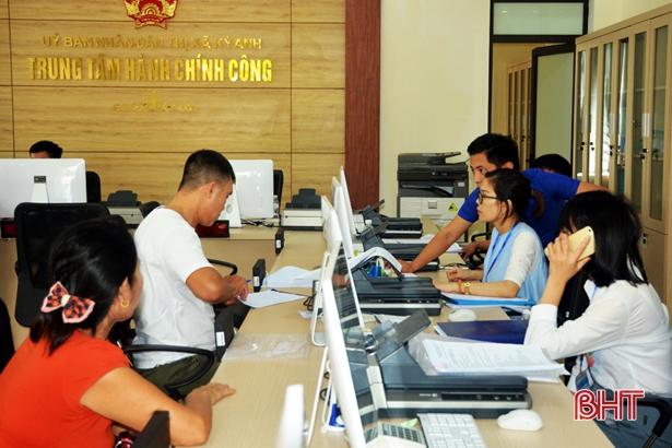 Đầu năm, tỷ lệ hồ sơ quá hạn cấp huyện tại Hà Tĩnh ở mức cao