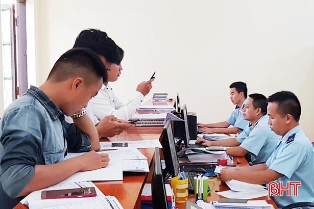 Hải quan Hà Tĩnh cung cấp hơn 90% dịch vụ công trực tuyến mức độ 3, 4