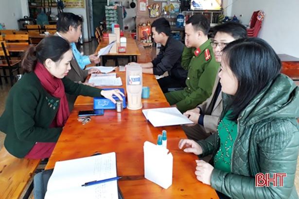 Hồng Lĩnh xử phạt 7 cơ sở vi phạm an toàn vệ sinh thực phẩm
