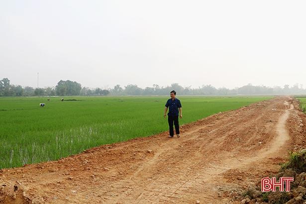 Nỗ lực sớm đạt chuẩn nông thôn mới để cuối năm nhập xã
