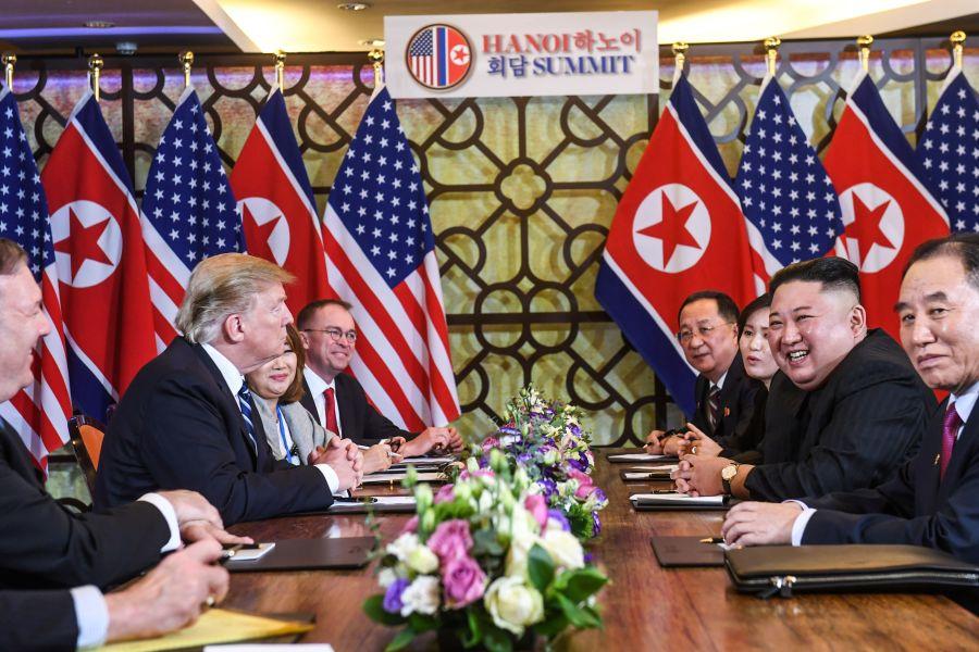 Thượng đỉnh Mỹ-Triều ngày thứ hai