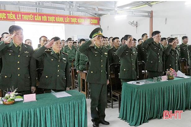 BĐBP Hà Tĩnh khai giảng huấn luyện chiến sỹ mới 2019