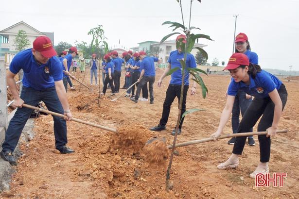 Tuổi trẻ Agribank Hà Tĩnh II chung tay xây dựng NTM, gắn kết cộng đồng
