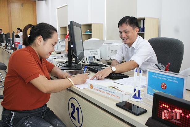 Hà Tĩnh cung cấp 2.350 thủ tục dịch vụ công trực tuyến mức độ 3