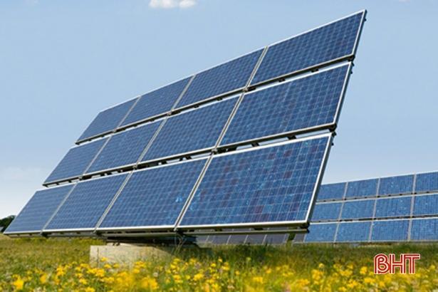Dự án Nhà máy điện mặt trời đóng thuế cho Hà Tĩnh hơn 6.000 triệu đồng