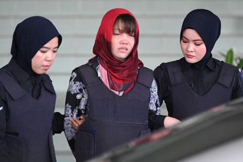 Công tố viên Malaysia từ chối đề nghị phóng thích Đoàn Thị Hương