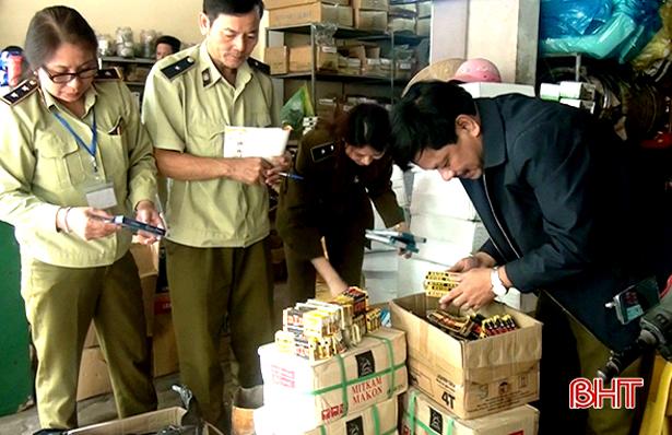 2 tháng, Cục Quản lý thị trường Hà Tĩnh xử lý 294 vụ vi phạm